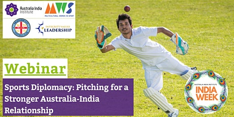 Sports Diplomacy: Pitching for a Stronger Australia-India Relationship tickets