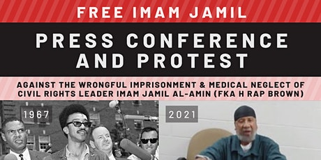 Free Imam Jamil Press Conference & Protest tickets
