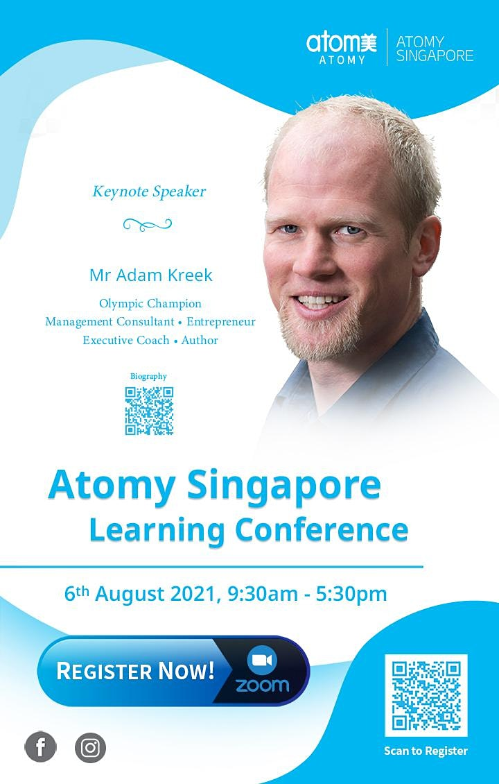 Atomy Singapore Learning Conference 2021 image
