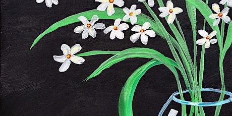 "Sip and Paint  -  ""Daisies in a Jar""  Bushfire Kitchen La Costa tickets"