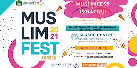 MuslimFest 2021 at ICSWO (London, ON) tickets