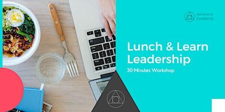 Lunch & Learn Leadership tickets