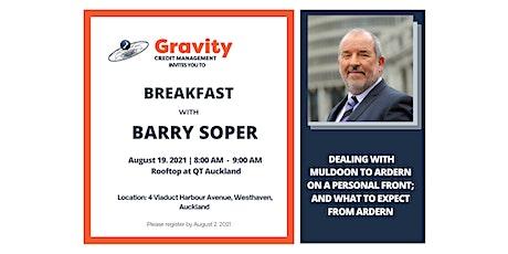 Breakfast with Barry Soper tickets