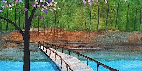 "Sip and Paint  -  ""Peaceful Path""  Estancia La Jolla tickets"