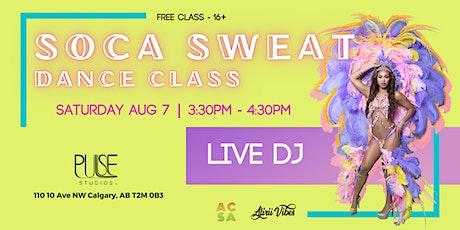 Soca Sweat Dance Class tickets