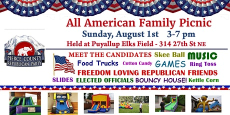 All American Family Picnic tickets