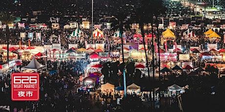 626 Night Market August 27-29 tickets