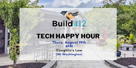 Pittsburgh Tech Happy Hour - August tickets