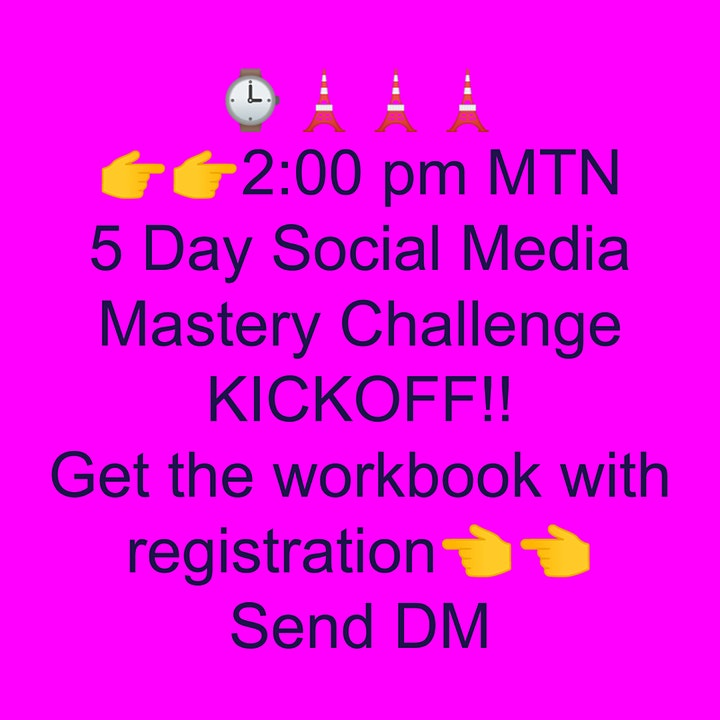 FREE 5 DAY CHALLENGE! Social media engagement simplified: image