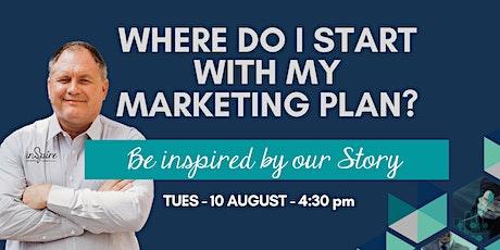 Where do I start with my Marketing plan? tickets