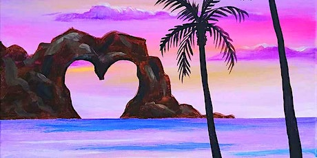 """Sip and Paint - """"Heart Cliff""""  Lafayette Hotel tickets"""