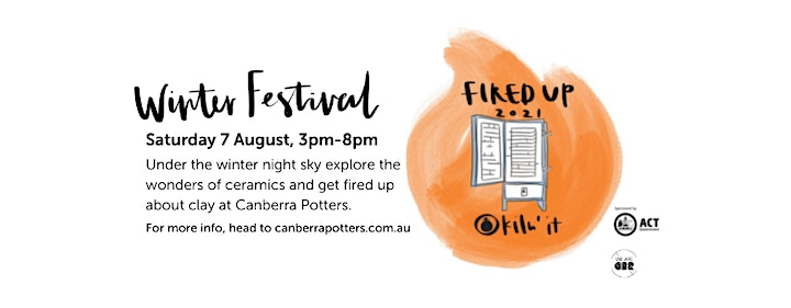 Canberra Potters Fired Up: Have a Go Raku Firing image
