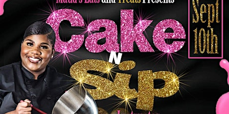 Cake n Sip with Maud tickets