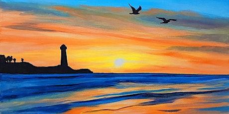 "Sip and Paint  -  ""Sunset Flight""  Estancia La Jolla tickets"