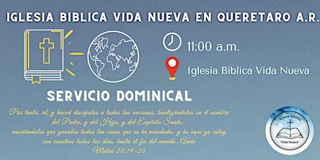 Servicio Dominical IBVN boletos