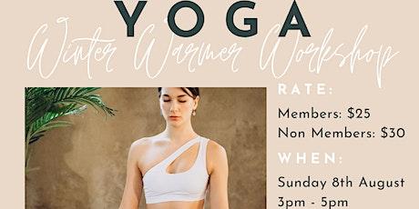 YOGA - Winter Warmer Workshop tickets