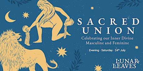 Sacred Union: Celebrating the Divine Masculine and Feminine tickets