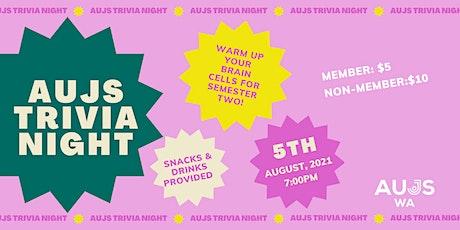AUJS Trivia Night tickets