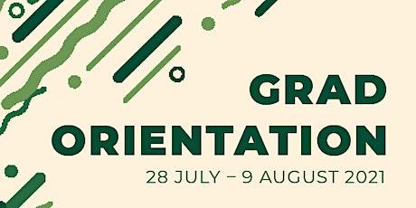 GSA Orientation - Get to know GSA's Policy & Advocacy Team tickets