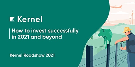 Kernel Investing Roadshow 2021 - Hamilton tickets