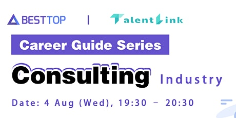 Career Guide Series: Consulting Industry tickets