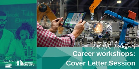 Career Workshop : Cover Letter Session [STEAM Industries] tickets