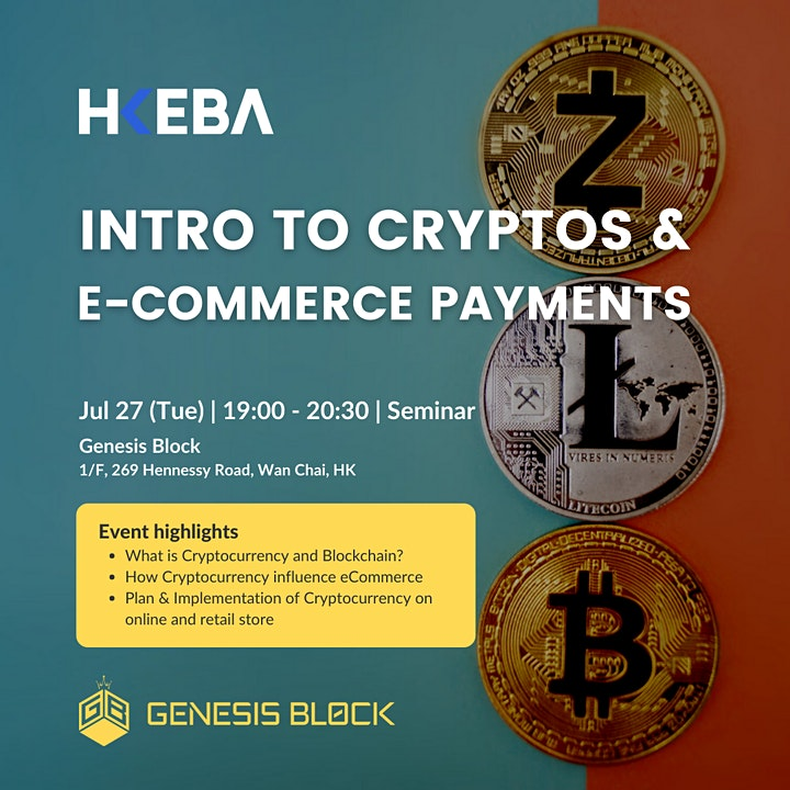 Intro to Cryptos and E-commerce payments image