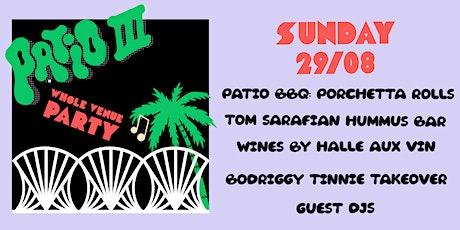 Patio Party III tickets
