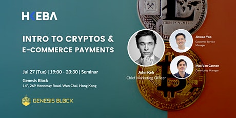 Intro to Cryptos and E-commerce payments tickets