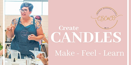 Calming candle making & melts workshop tickets