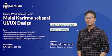 Mulai Karirmu sebagai UI/UX Design tickets