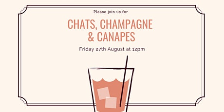 Ladies Networking - Chats, Champagne & Canapes tickets
