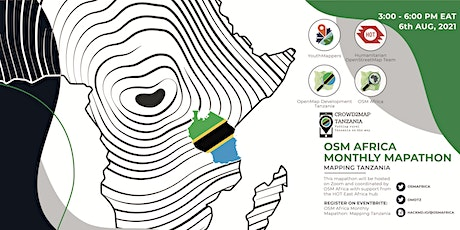 OSM Africa Monthly Mapathon: Map Tanzania tickets