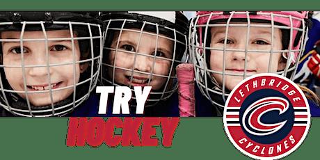 Try Female Hockey Lethbridge 2021 - FREE tickets