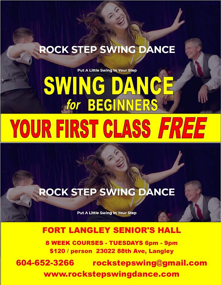 Beginner Swing Dance Course- 8 Weeks image