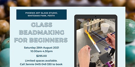 Introduction to Lampworking - Glass Bead Making for Beginners tickets