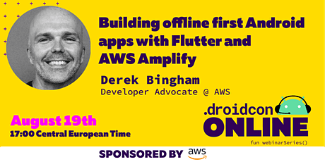 Building offline first Android apps with Flutter and AWS Amplify tickets