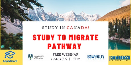 Study to Immigrate Pathway with Bow Valley College & University of Windsor! tickets