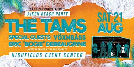 Aiken Beach Party featuring: The Tams tickets