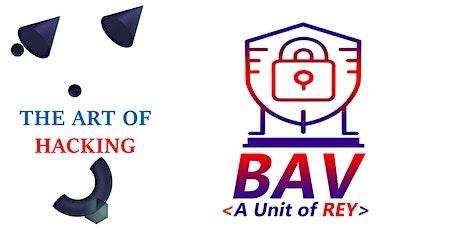BAV Webinar: The Art of Hacking billets
