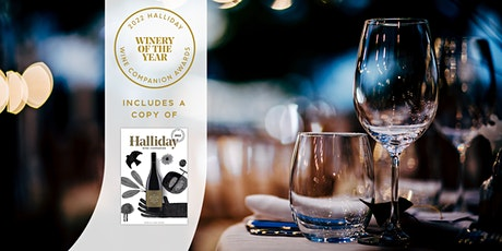Halliday Winery of the Year Dinner 14th Oct 6:30pm Inc 2022 Wine Companion tickets