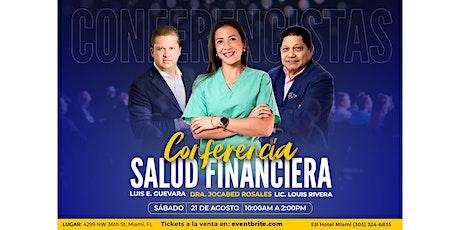 SALUD FINANCIERA tickets