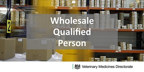 Introductory Veterinary Wholesale Qualified Person Training Day tickets