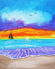 """Sip and Paint - """"Majestic Sunset""""  Lafayette Hotel tickets"""
