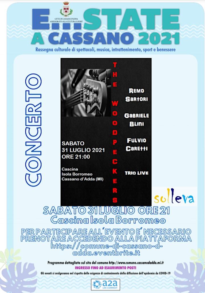 """Immagine E...state a Cassano -  Concerto della band cassanese """"The Woodpeckers"""