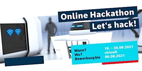 Online Hackathon 2021 tickets
