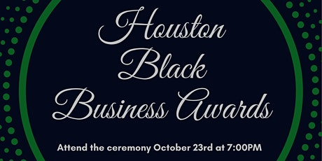 1st Annual Houston Black Business Awards tickets