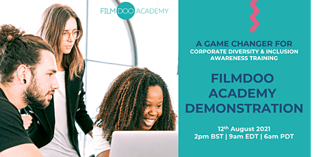 FilmDoo Academy, a game changer for company Diversity & Inclusion training tickets