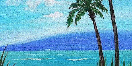 "Copy of Sip and Paint  -  ""Private Beach""  Estancia La Jolla tickets"