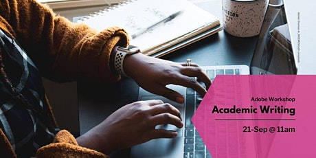 Academic writing (11:00 - 12:00) tickets